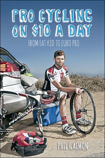 Pro cycling on $10 a day - book