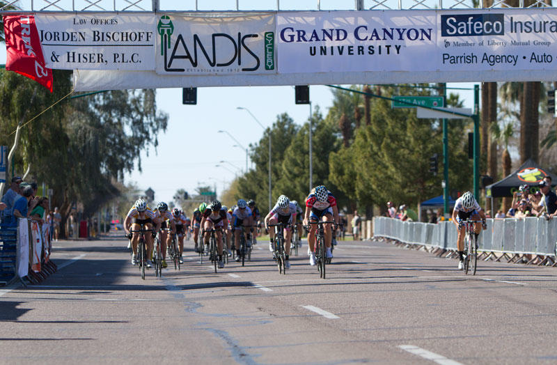 criterium finish line at pro womes race