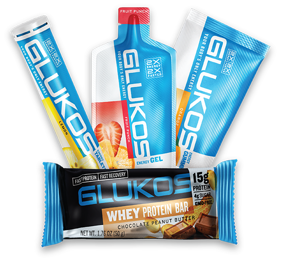 glukos energy products for endurance athletes