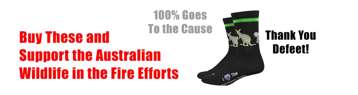 Buy These Socks and 100% goes to Australia Wildfire cause