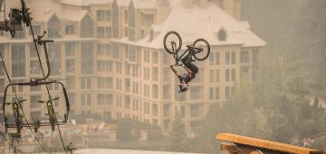 Rogatin Creates History Winning the Triple Crown @ Crankworx