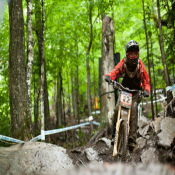 Minnaar and Mosely top Qualifiers at Mont Saint Anne DH