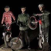 Trials magic with three different bikes from the Czech