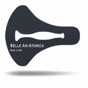 Awesome American Made Saddle...Selle Anatomica