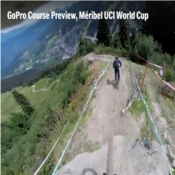 VIDEO of  Meribel World Cup Downhill course